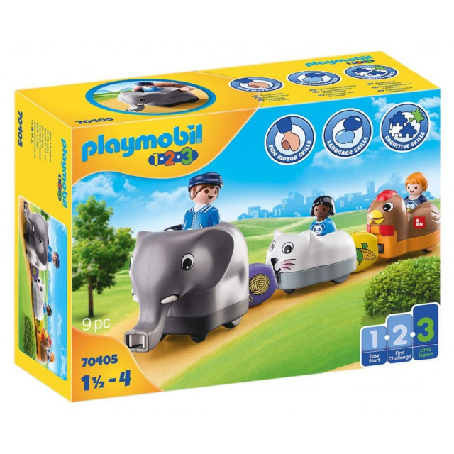 Obrázek produktu Playmobil 70405 Můj tahací vláček se zvířátky (1.2.3)
