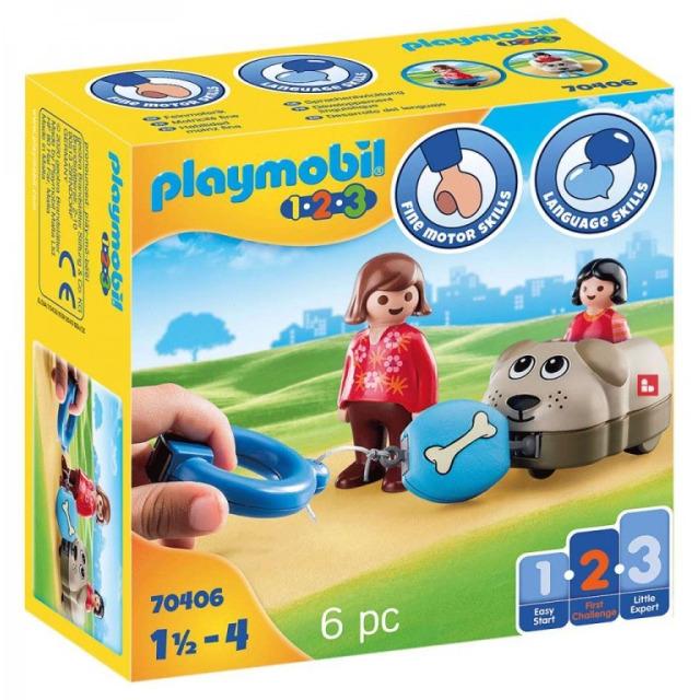 Obrázek produktu Playmobil 70406 Můj tahací pejsek (1.2.3)