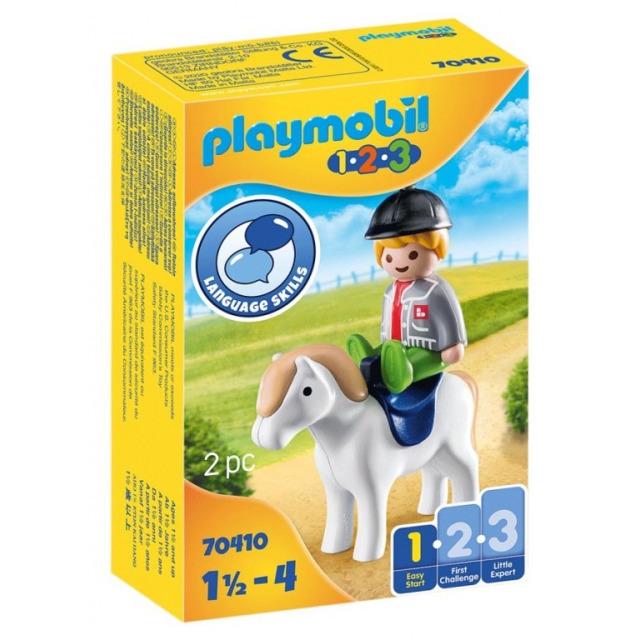 Obrázek produktu Playmobil 70410 Chlapec s poníkem (1.2.3)