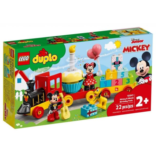 Obrázek produktu LEGO Duplo 10941 Narozeninový vláček Mickeyho a Minnie