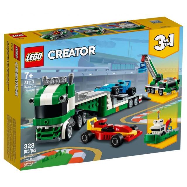 Obrázek produktu LEGO CREATOR 31113 Kamion pro přepravu závodních aut