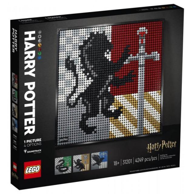 Obrázek produktu LEGO Art 31201 Harry Potter Hogwarts Crests