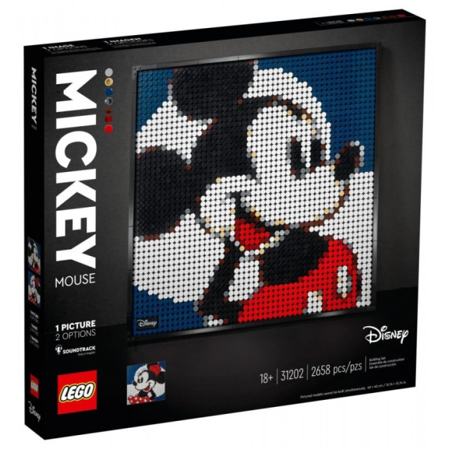 Obrázek produktu LEGO Art 31202 Disney's Mickey Mouse
