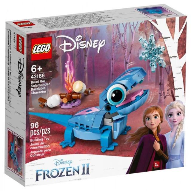 Obrázek produktu LEGO Disney 43186 Mlok Bruni, sestavitelná postavička