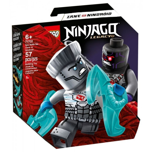 Obrázek produktu LEGO Ninjago 71731 Epický souboj – Zane vs. Nindroid