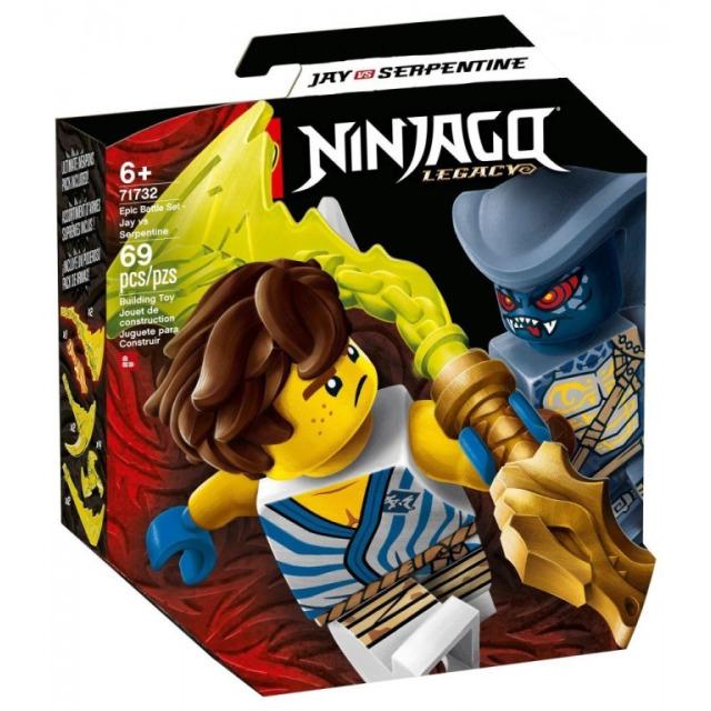 Obrázek produktu LEGO Ninjago 71732 Epický souboj – Jay vs. Serpentine