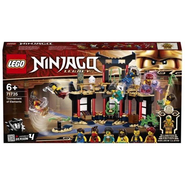 Obrázek produktu LEGO Ninjago 71735 Turnaj živlů