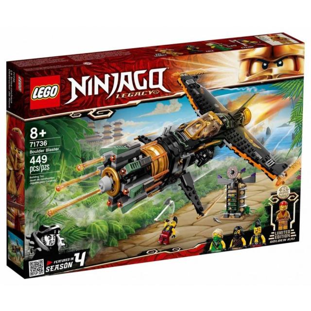 Obrázek produktu LEGO Ninjago 71736 Odstřelovač balvanů