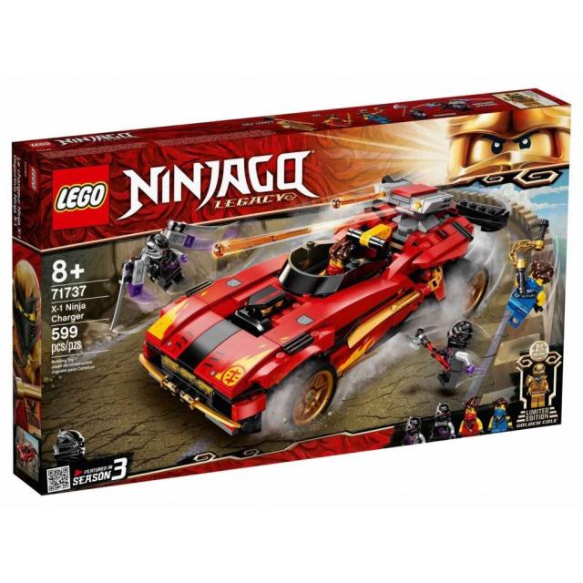 Obrázek produktu LEGO Ninjago 71737 Kaiův červený bourák