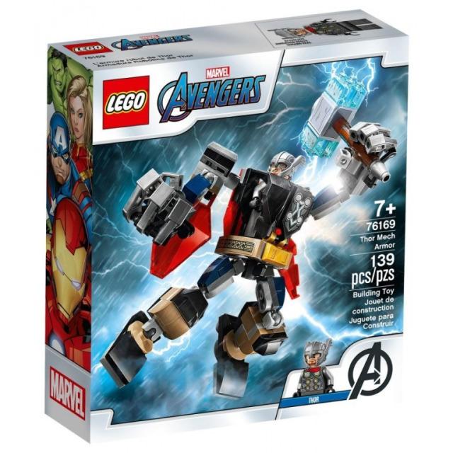 Obrázek produktu LEGO Super Heroes 76169 Thor v obrněném robotu