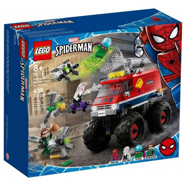 Obrázek produktu LEGO Super Heroes 76174 Spider-Man v monster trucku vs. Mysterio