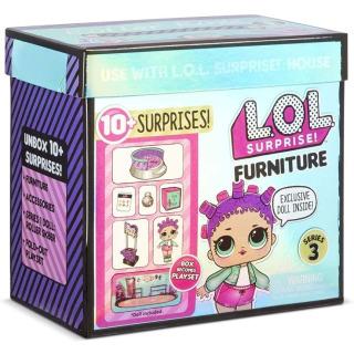 Obrázek 1 produktu MGA L.O.L. SURPRISE Nábytek s panenkou: Bruslařský park & Roller Sk8er