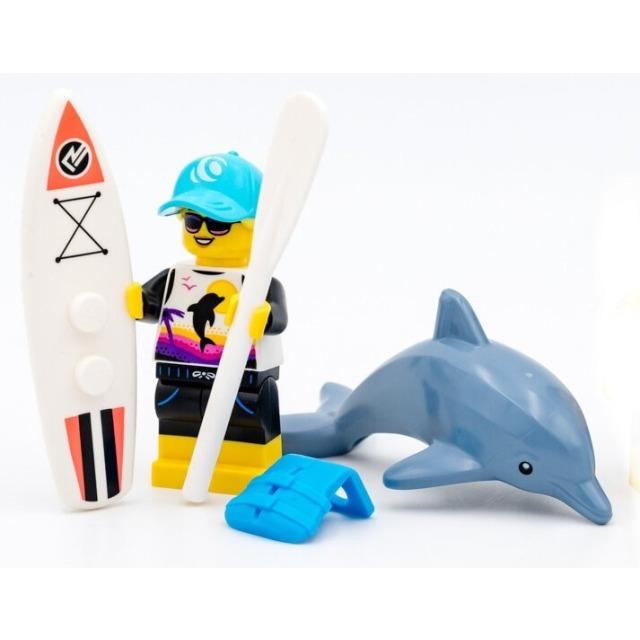 Obrázek produktu LEGO 71029 Minifigurka Surfařka s delfínem
