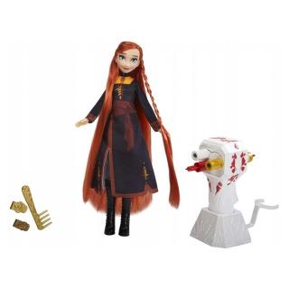 Obrázek 1 produktu Ledové království 2 Anna a česací set, Hasbro E7003