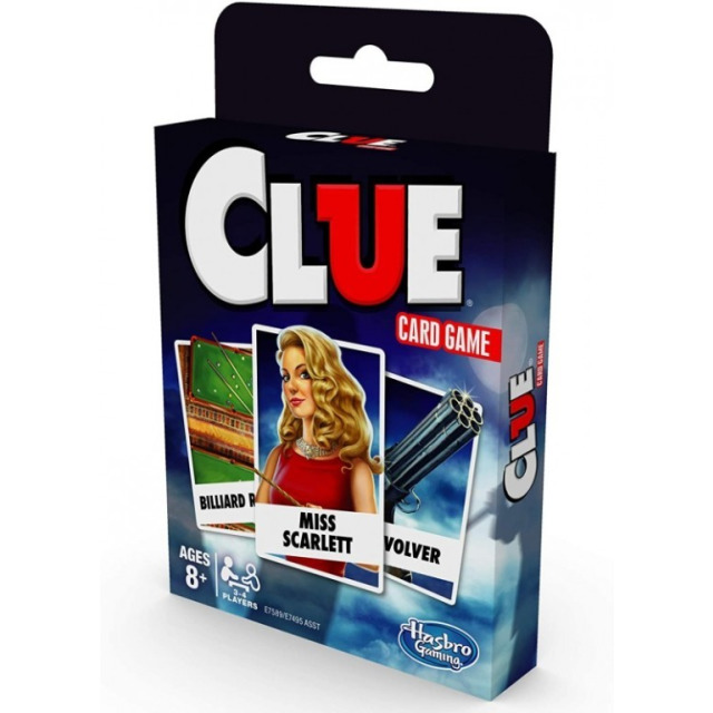 Obrázek produktu Hasbro Cluedo karetní hra