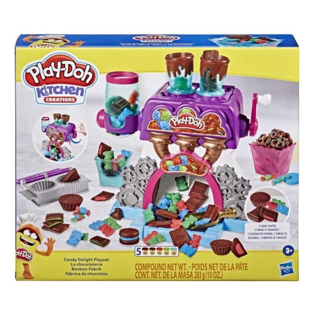 Obrázek produktu Play Doh Továrna na čokoládu, Hasbro E9844