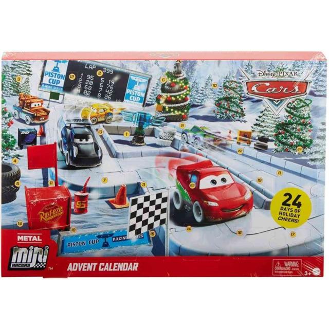 Obrázek produktu Adventní kalendář Cars mini, Mattel GPG11