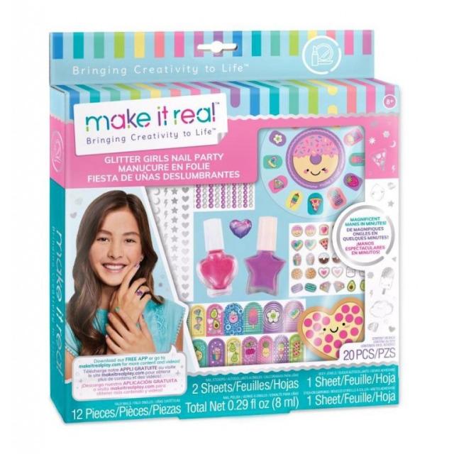 Obrázek produktu Make It Real Laky na nehty se zdobením a samolepkama