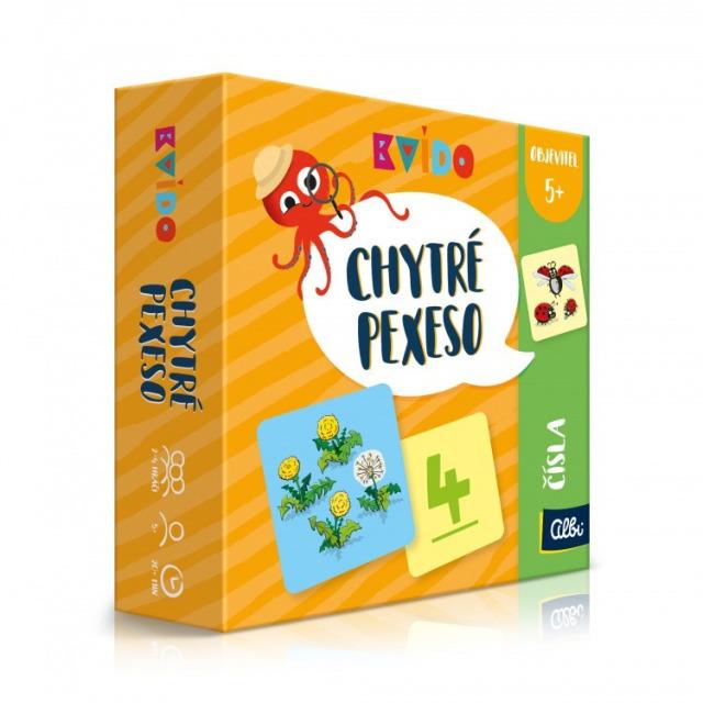Obrázek produktu Kvído Chytré pexeso - Čísla