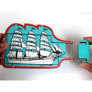 Obrázek 1 produktu RECENTTYOS Loď v lahvi