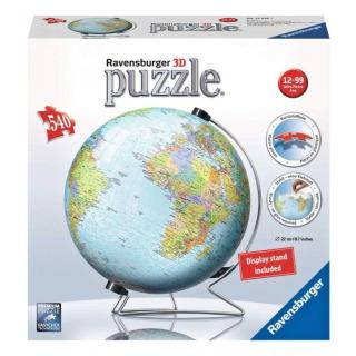 Obrázek 1 produktu Ravensburger 12436 Puzzleball Globus 540 dílků AJ