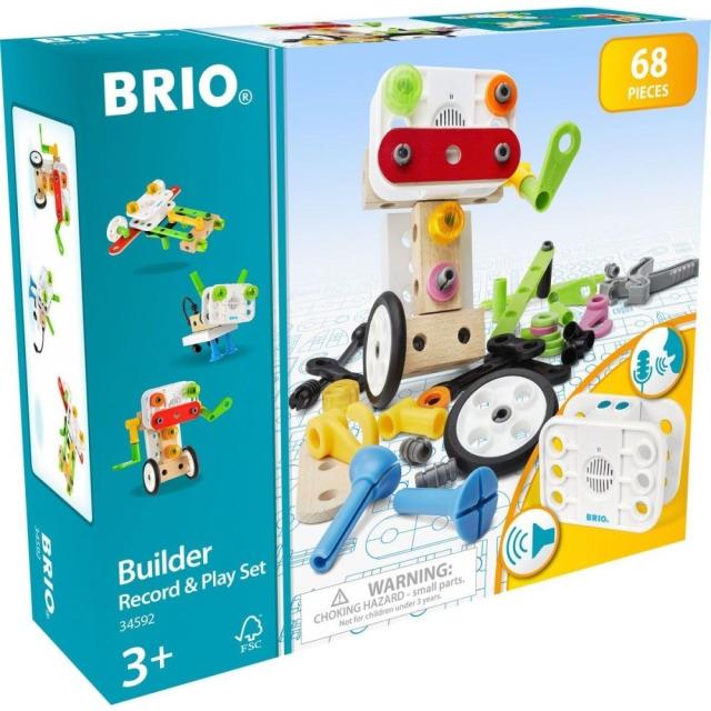 Obrázek produktu BRIO Builder 34592 Stavebnice s nahráváním zvuku