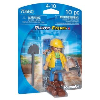 Obrázek 1 produktu Playmobil 70560 Stavební dělník