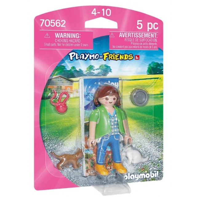 Obrázek produktu Playmobil 70562 Chovatelka koček