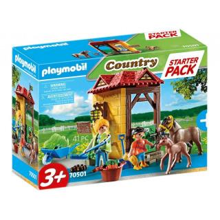 Obrázek 1 produktu Playmobil 70501 Starter Pack Koňská stáj