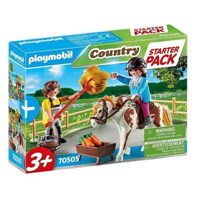 Obrázek produktu Playmobil 70505 Starter Pack Koňská stáj doplňkový set