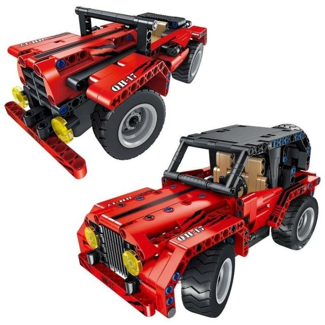 Obrázek produktu Tech Bricks 8017 R/C Jeep 2v1, 333 dílků