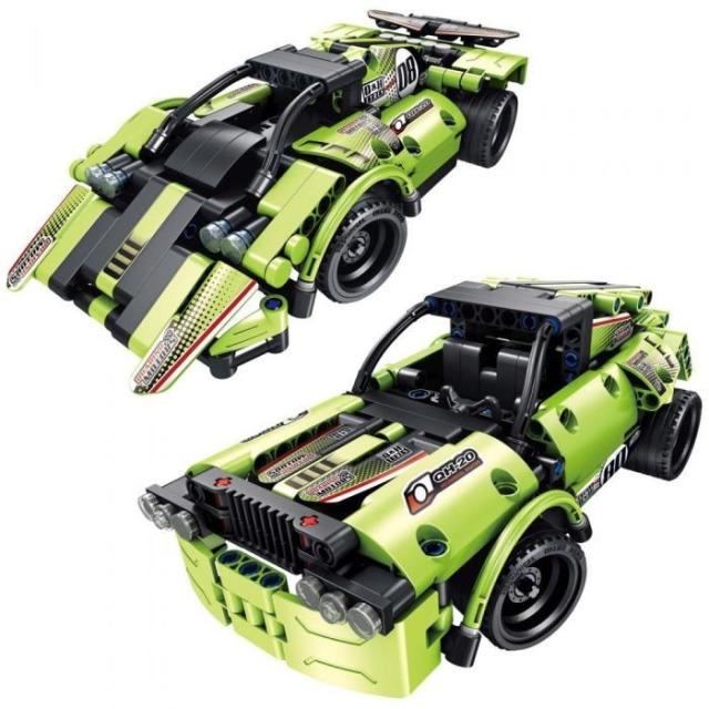 Obrázek produktu Tech Bricks 8020 R/C Závodní auto 2v1, 335 dílků