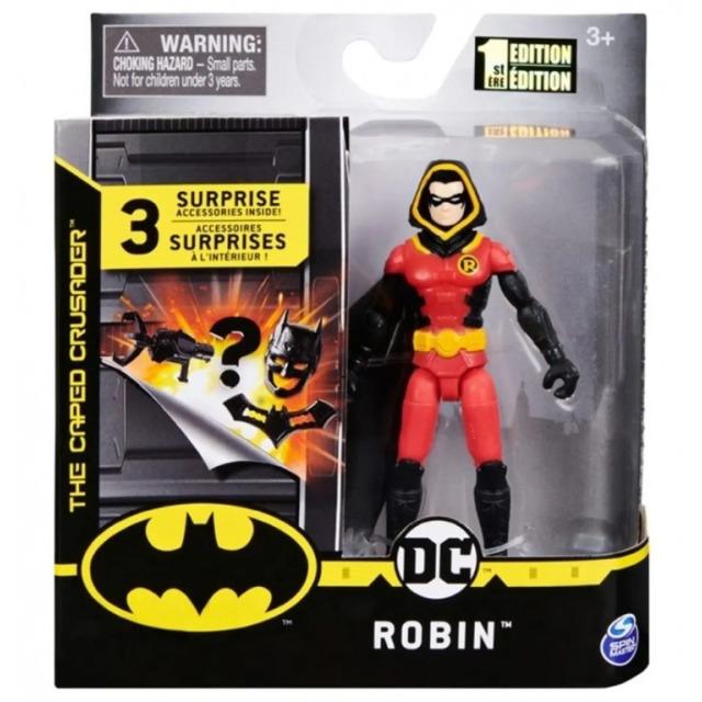 Obrázek produktu DC Batman, figurka s doplňky ROBIN 10cm Spin Master 25780