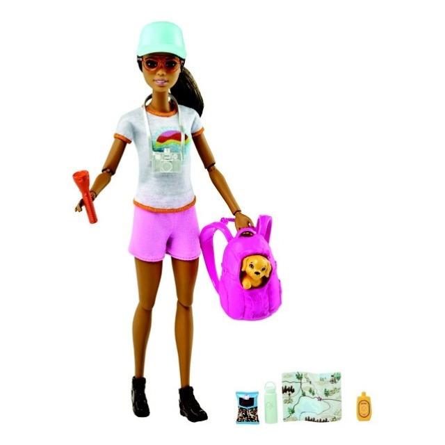 Obrázek produktu Mattel Barbie Wellness  turistka s batohem, GRN66