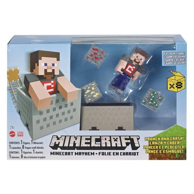 Obrázek produktu Minecraft Mayhem 8cm, Mattel GVL55