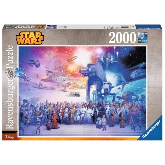 Obrázek produktu Ravensburger 16701 Puzzle Star Wars Vesmír 2000 dílků