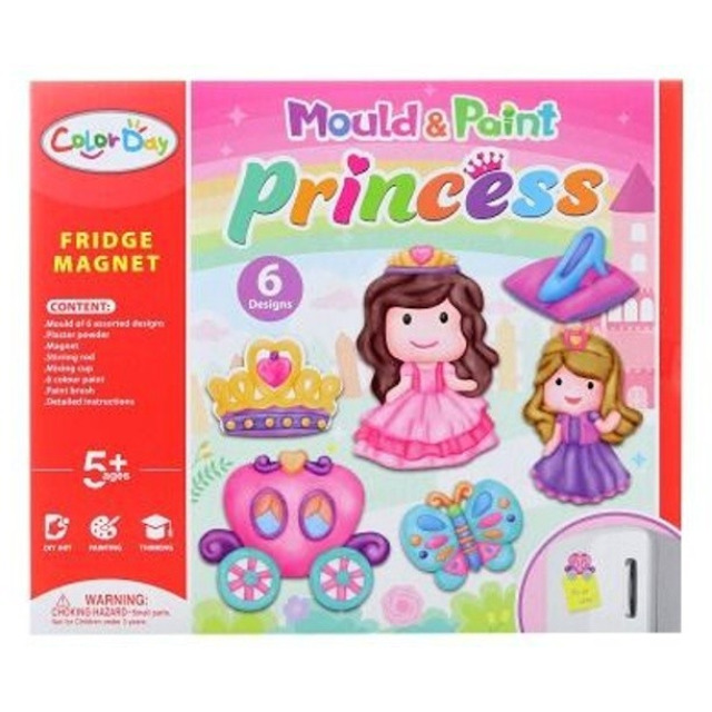 Obrázek produktu Výrobek ze sádry Magnety Princezny