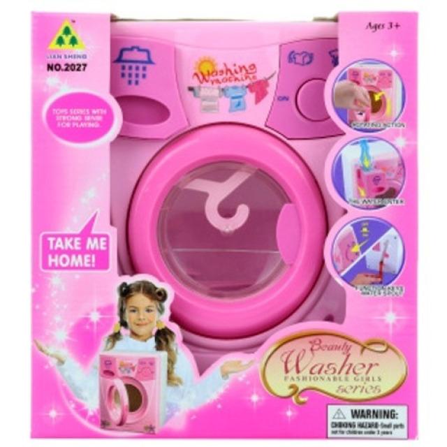 Obrázek produktu Dětská Pračka růžová, na vodu