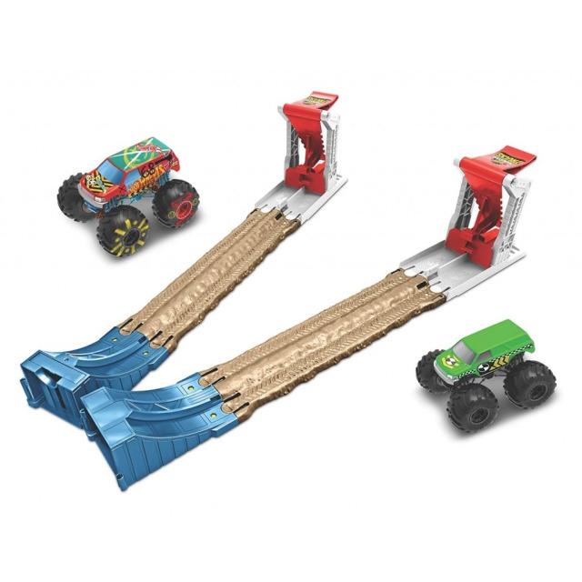 Obrázek produktu Hot Wheels® Monster Trucks Dvojitá destrukce, herní set, Mattel GYC80
