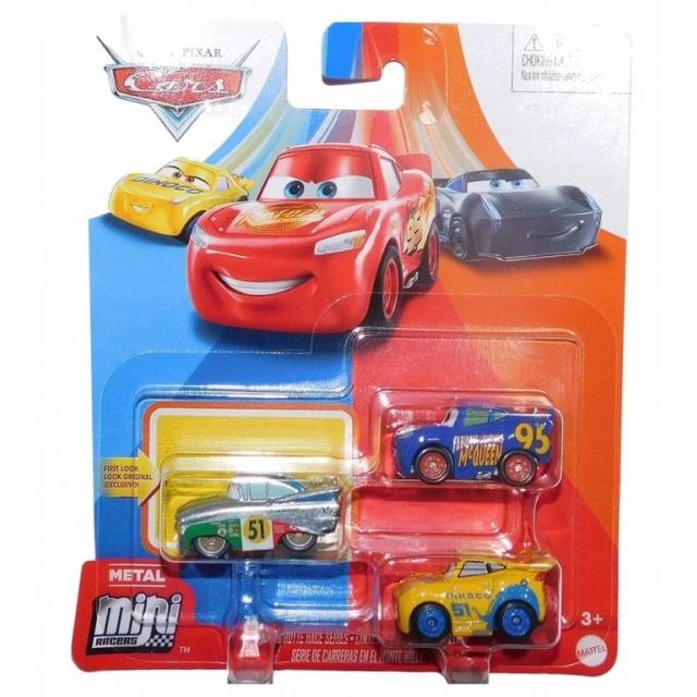 Obrázek produktu Cars 3 Mini auta 3ks Race, Mattel GKG66