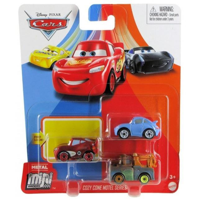 Obrázek produktu Cars 3 Mini auta 3ks Friends, Mattel GKG65