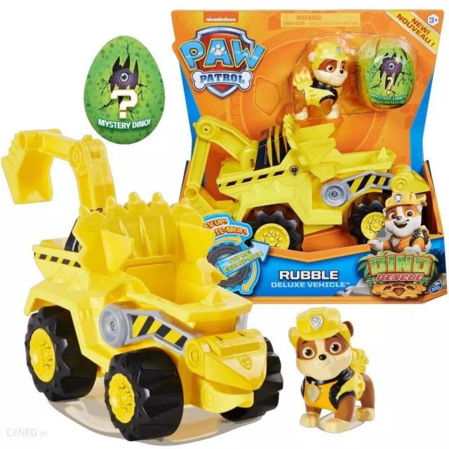 Obrázek produktu Tlapková patrola DINO vozidlo s figurkou RUBBLE