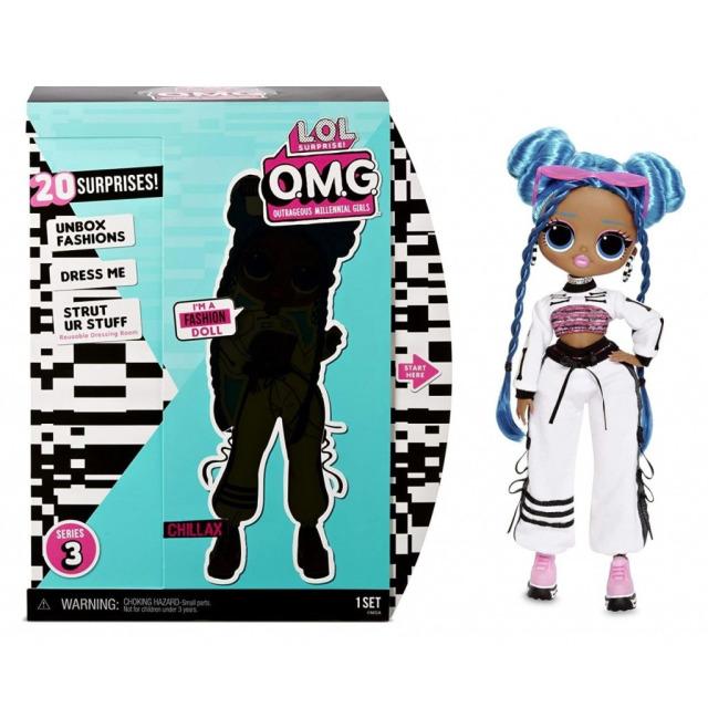 Obrázek produktu MGA L.O.L. SURPRISE Velká ségra OMG - CHILLAX