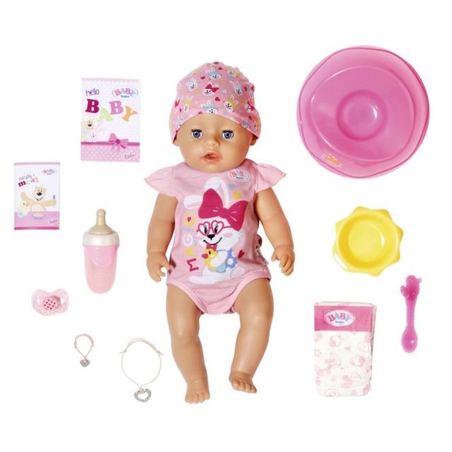 Obrázek produktu BABY born s kouzelným dudlíkem, holčička, 43 cm