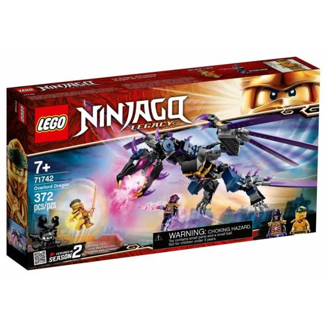 Obrázek produktu LEGO Ninjago 71742 Overlordův drak