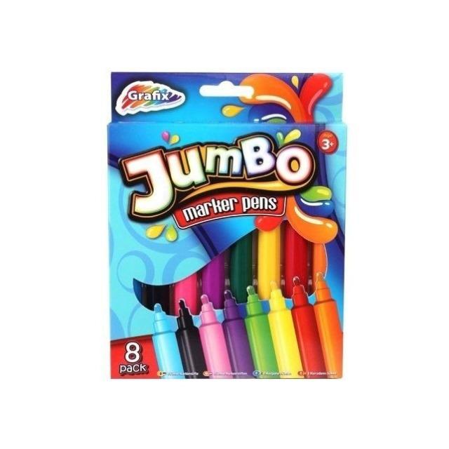 Obrázek produktu Fixy Jumbo 8 ks