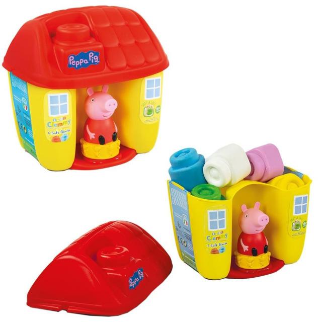 Obrázek produktu Clemmy Baby Peppa Pig kyblík s kostkami