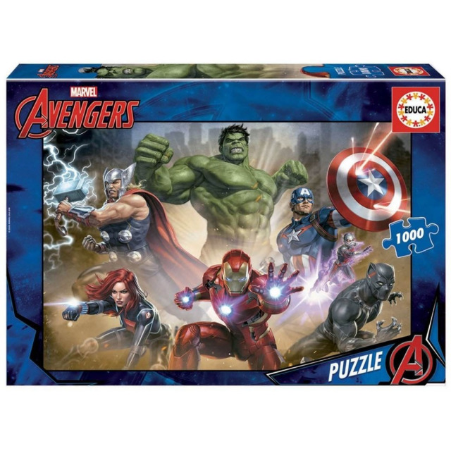 Obrázek produktu EDUCA 17694 Puzzle Marvel AVENGERS, 1000 dílků