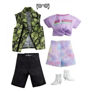 Obrázek 1 produktu Barbie a Ken Fashion Rockový komplet, Mattel GRC95
