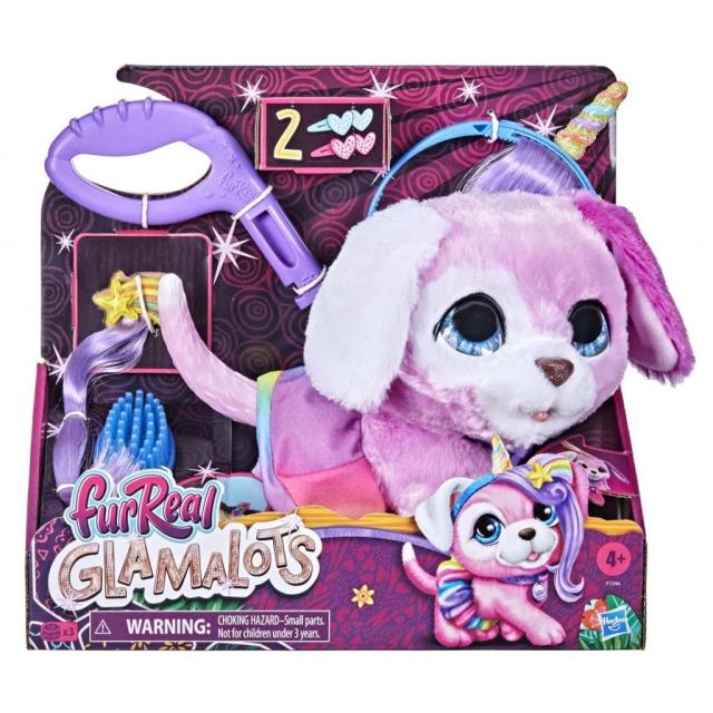 Obrázek produktu FurReal Friends GLAMALOTS Růžový pejsek, Hasbro F1544